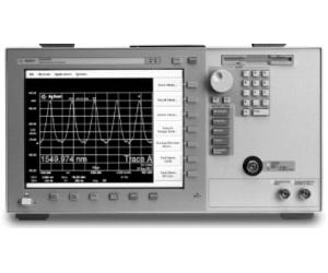 HP/AGILENT 86142B/4/6 OPTICAL SPECTRUM ANAL., BENCHTOP, OPT. 4/6